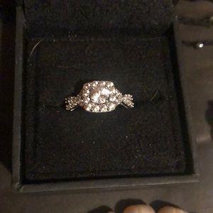 Helzberg Diamond Silver Ring